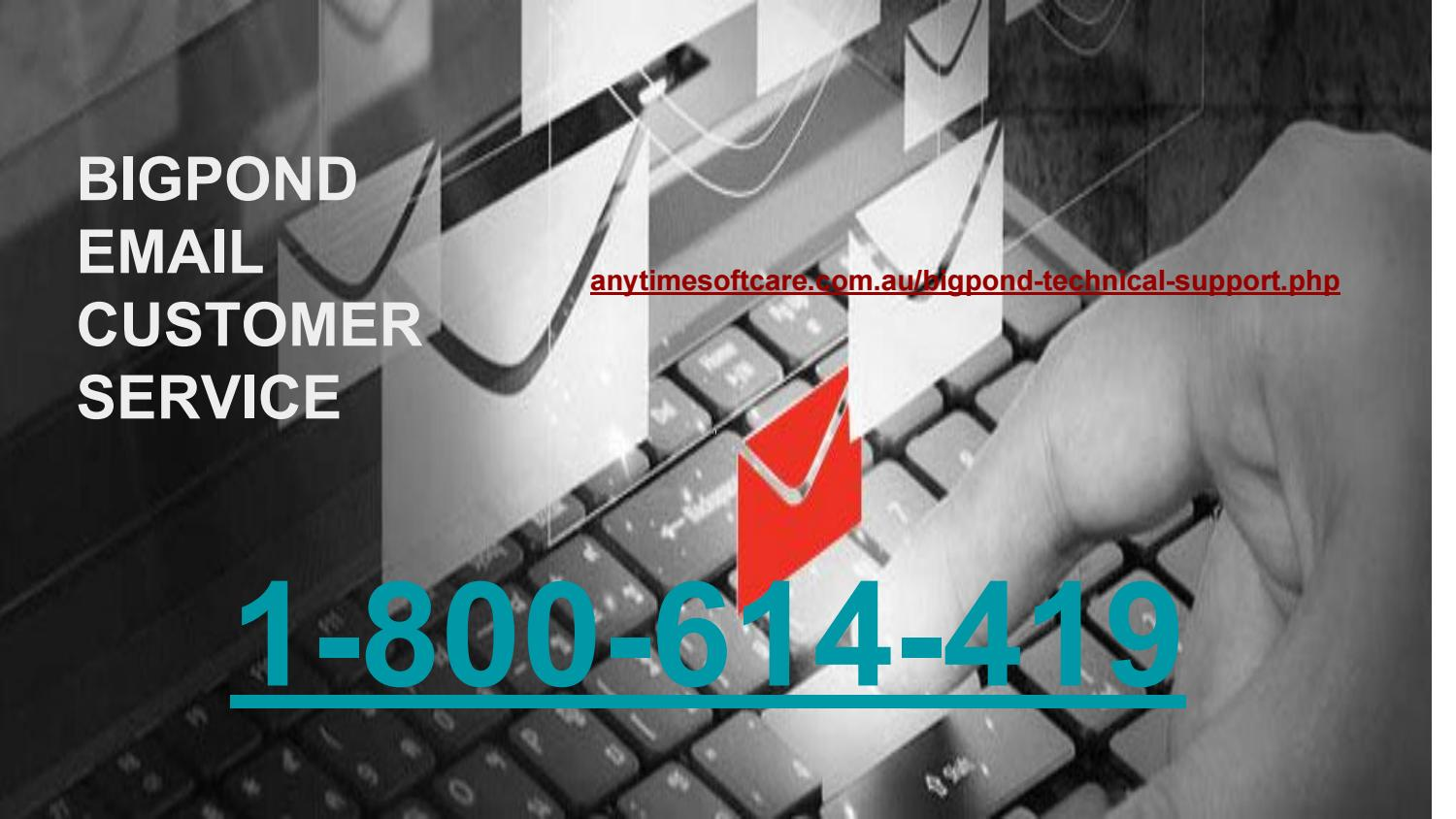 Worthwhile Email Solutions At 1-800-614-419  Bigpond Customer Service