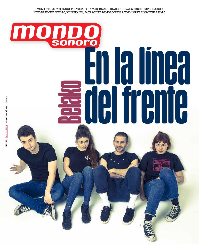 brand new 80d1f b6455 MondoSonoro marzo 2018 by MONDO SONORO - issuu