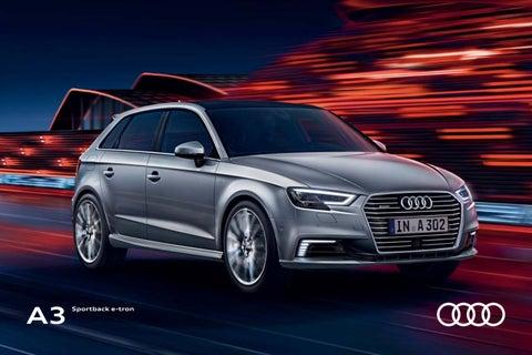 Audi A3 e-tron -esite 11/2017