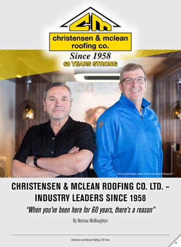 Cmroofing Web By Business In Edmonton Magazine Issuu