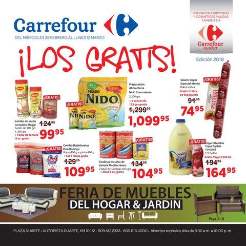 Los gratis Carrefour! by CarrefourRD - issuu 7d7cf430db70