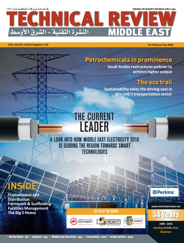 b403a36ff Technical Review Middle East 2 2018 by Alain Charles Publishing - issuu