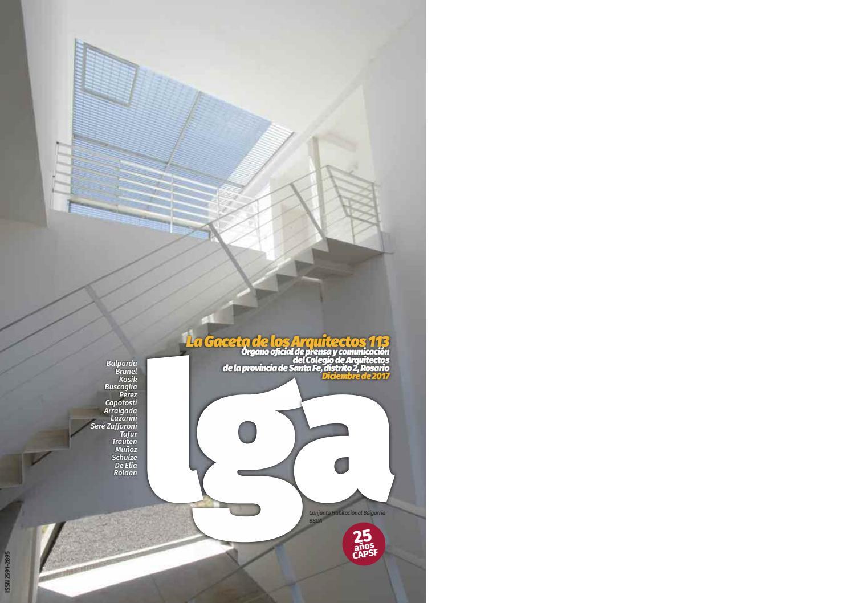 La Gaceta de los Arquitectos by Comunicaciones Colegio Arquitectos ...