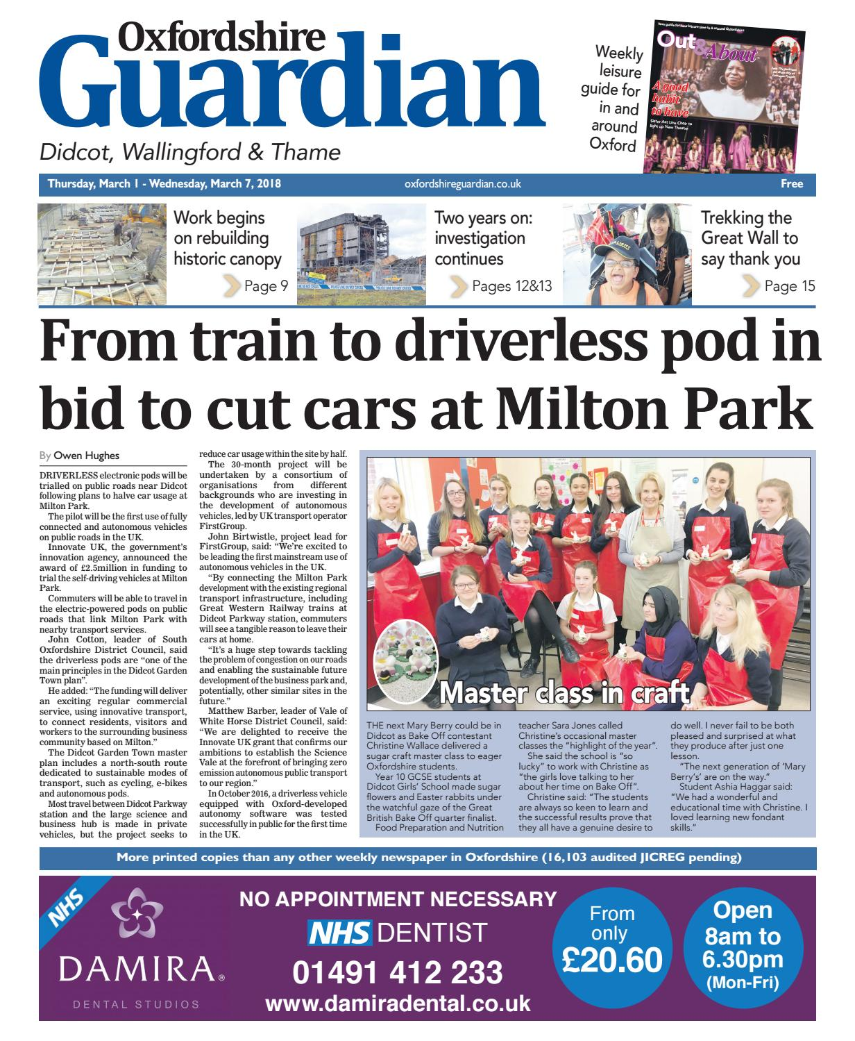 2018 Guardian Newspapers 01 Issuu By Taylor Didcot March Oxfordshire Z80ONnwkXP