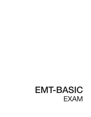 emt basic practice exam 1 by fenan sollano issuu Ace Personal Trainer Practice Test emt basic exam