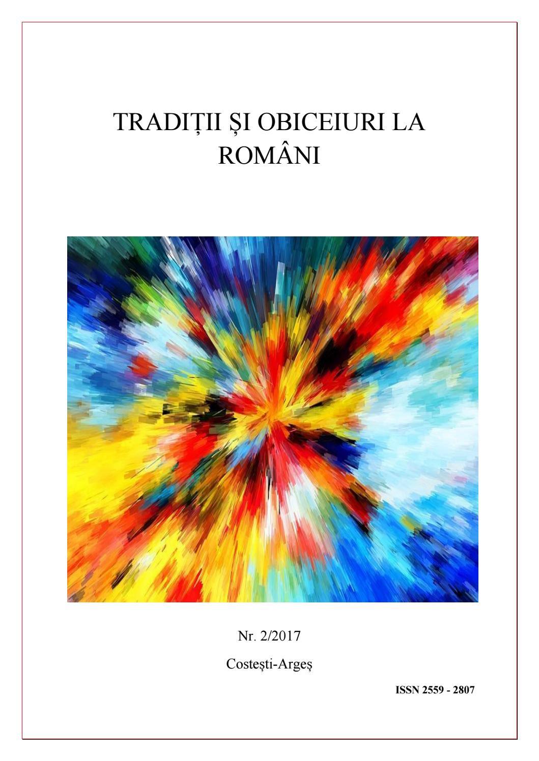 Tradiții și Obiceiuri La Români Nr 2 1 By Violeta Vio Issuu