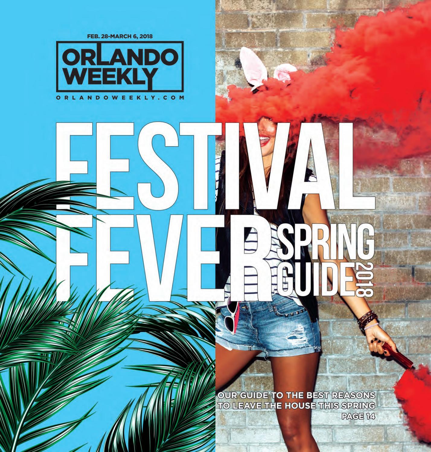 fc9dd27f64 Orlando Weekly February 28, 2018 by Euclid Media Group - issuu