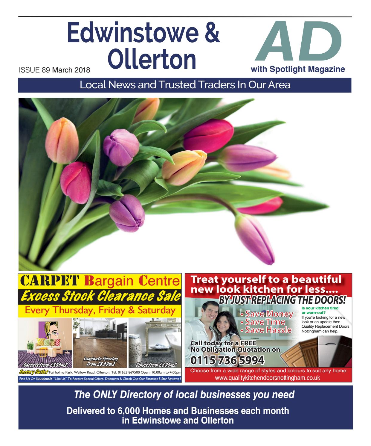 Ad Newspaper for Edwinstowe & Ollerton in Mansfield Nottingham March