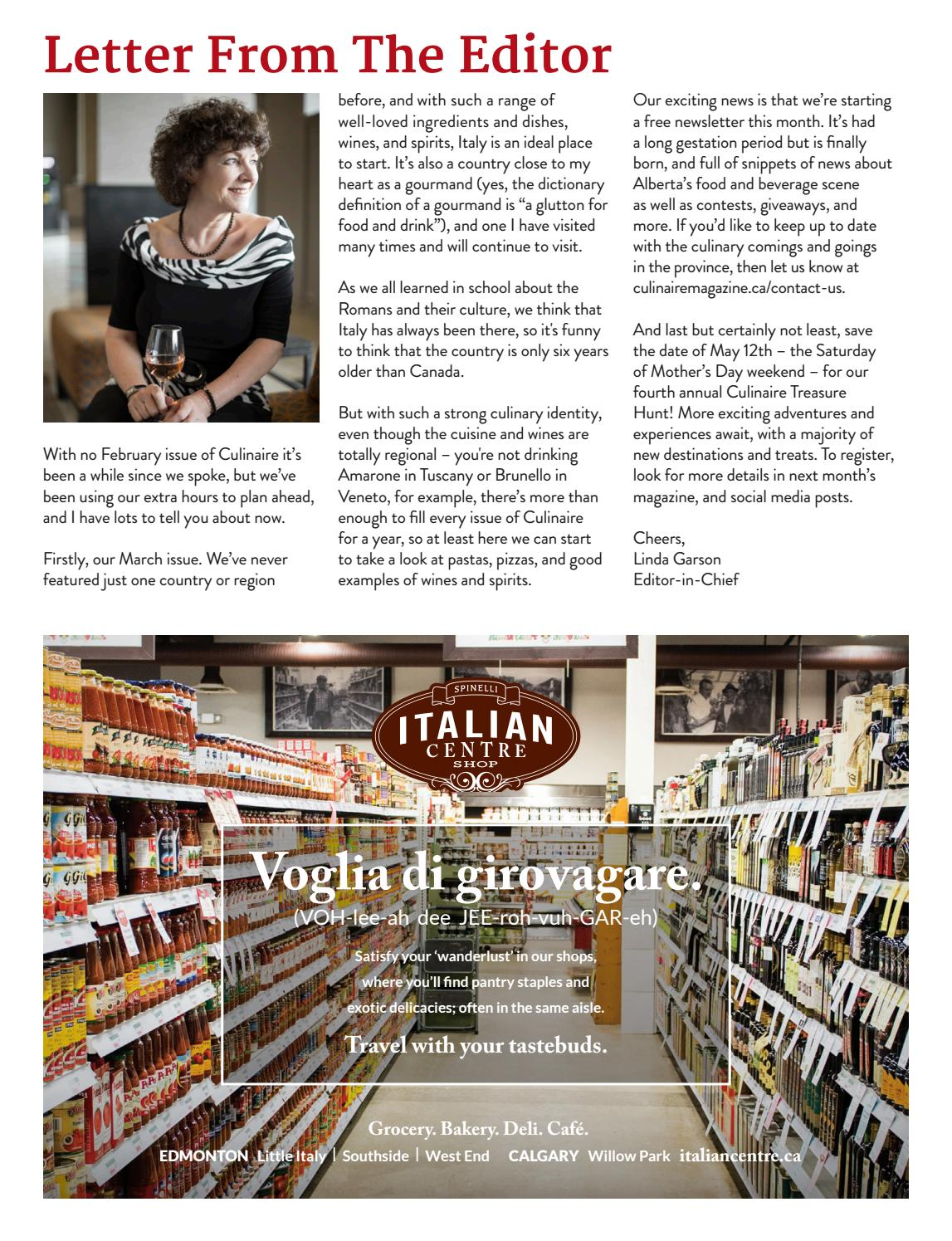 culinaire #6:9 (march 2018) by culinaire magazine - issuu