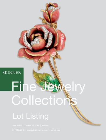 157fc0da4 Fine Jewelry Collections | Skinner Auction 3085B by Skinner, Inc ...