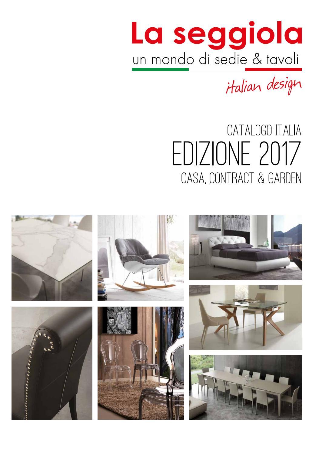 Catalogo La seggiola Tavoli e sedie moderno by ...