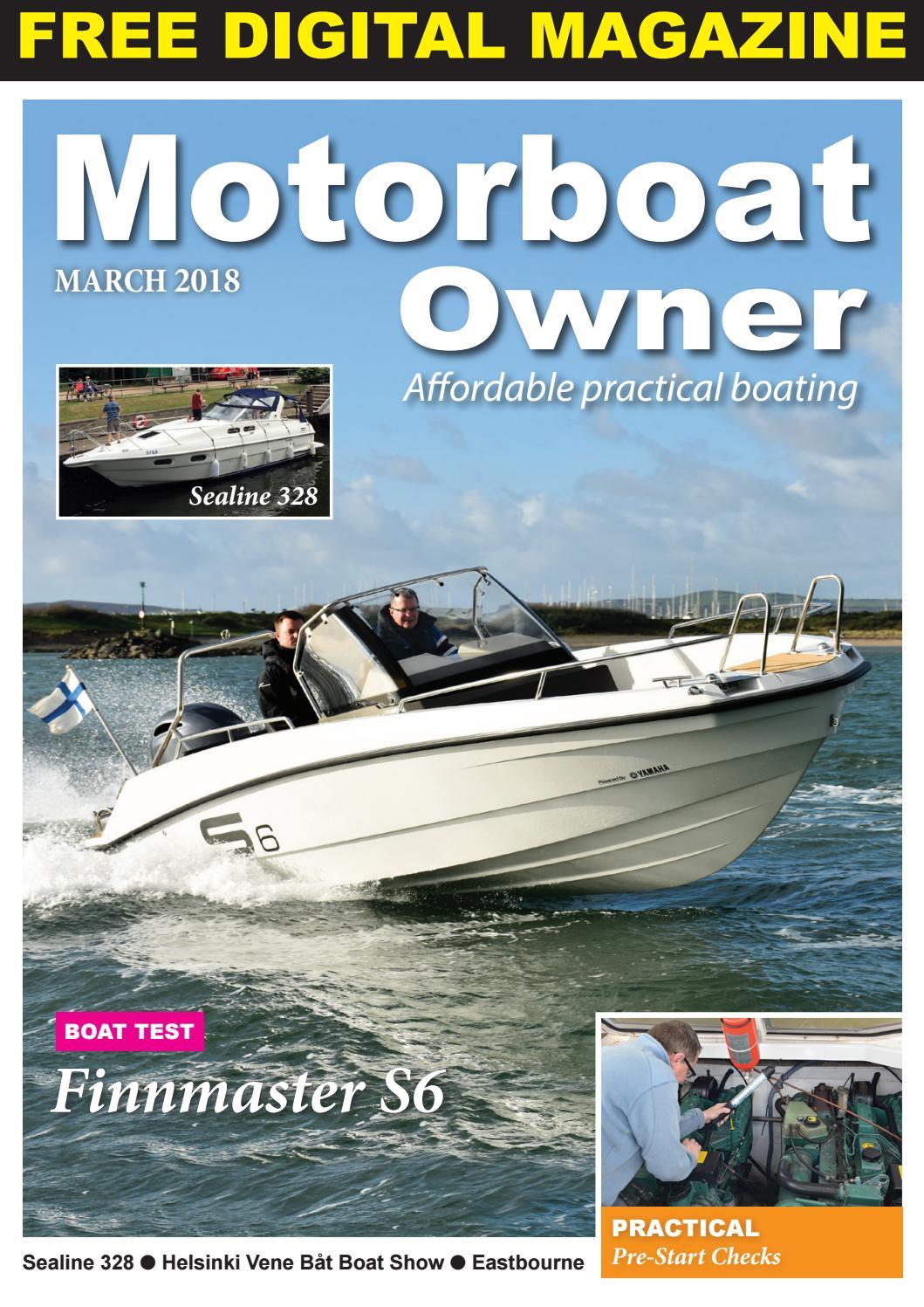 Motorboat Owner March 2018 by Digital Marine Media Ltd - issuu