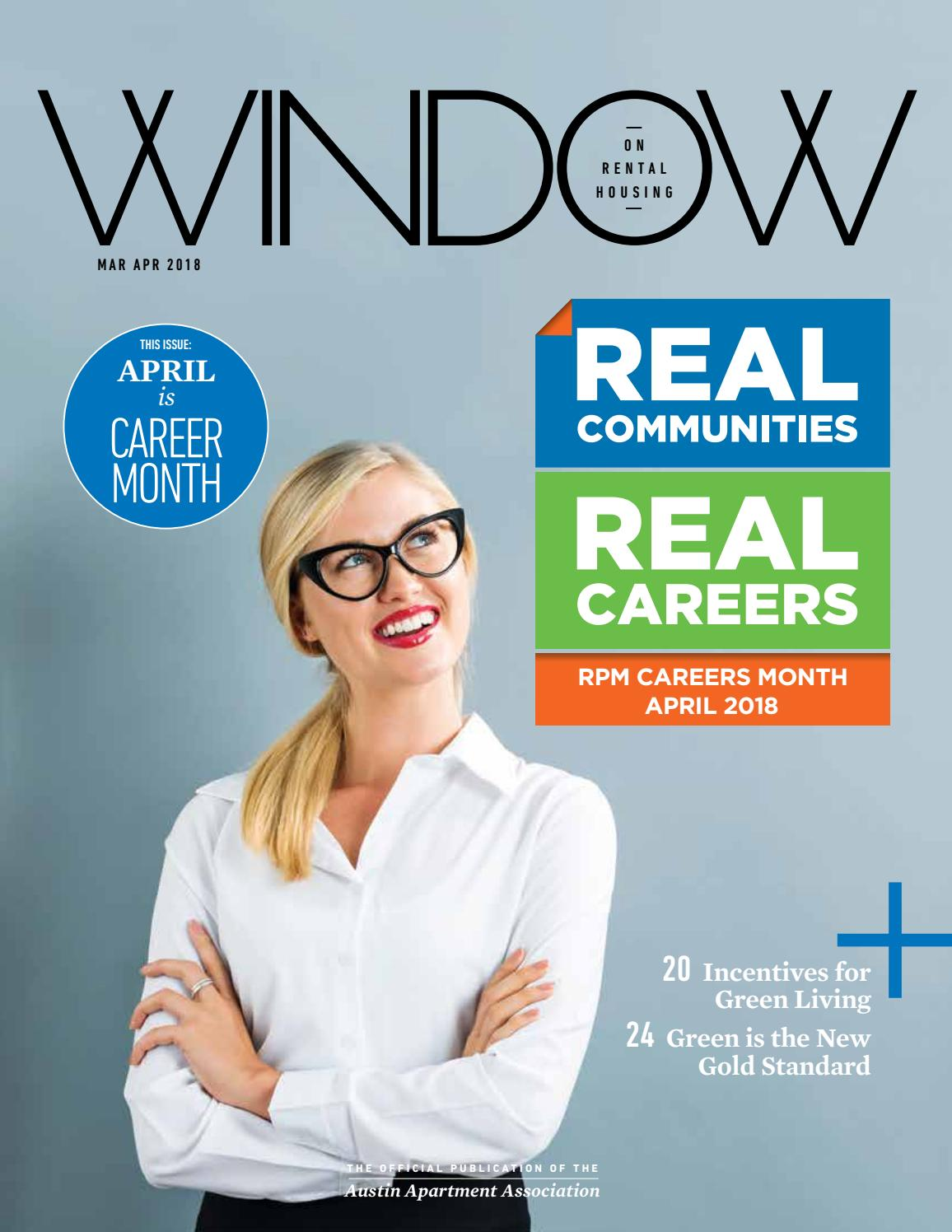 Window On Rental Housing March April 2018 By Austin Apartment Association Issuu