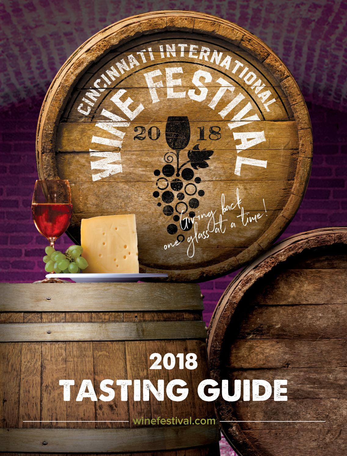 Cincinnati International Wine Festival Tasting Guide 2018 By Cincinnati Magazine Issuu