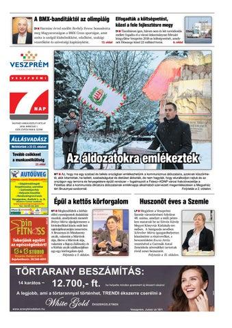 Veszprémi 7 Nap - 2018. 03. 02. by Maraton Lapcsoport Kft. - issuu a06f1c46bd