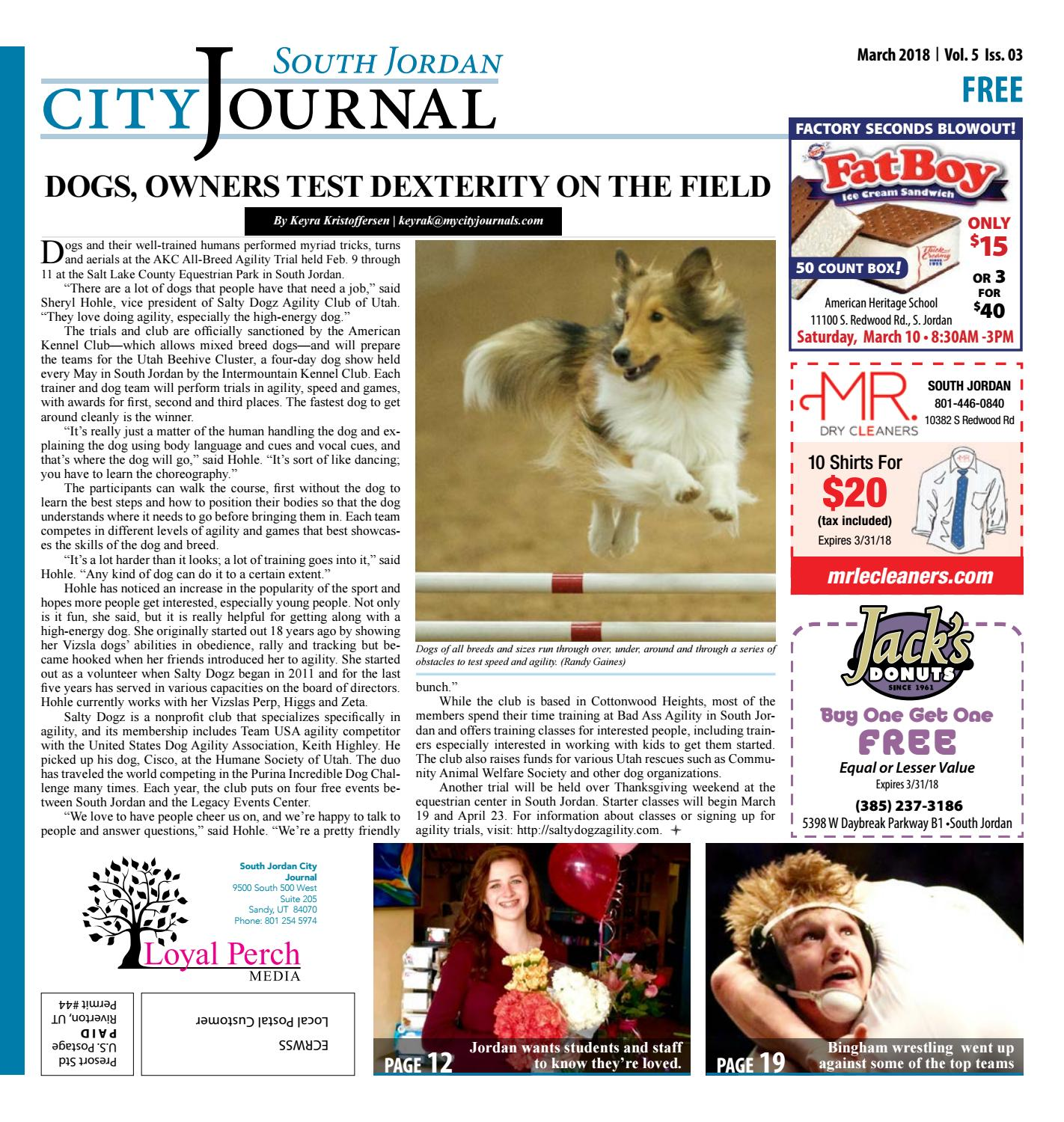 South Jordan March 2018 by The City Journals - issuu