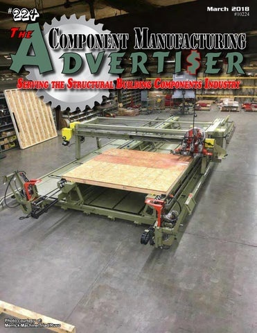March 2018 Advertiser by Component Manufacturing Advertiser