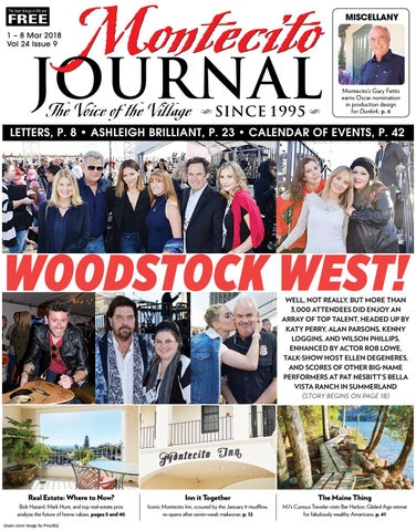 Woodstock West! by Montecito Journal - issuu