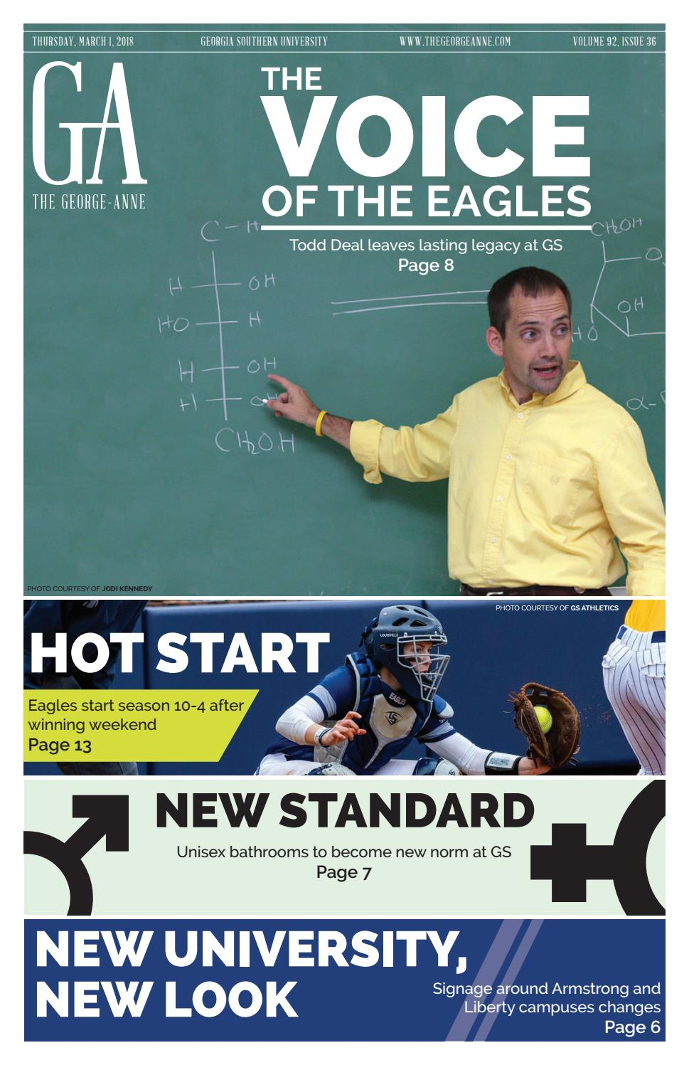 March 1 2018 by Georgia Southern University - issuu