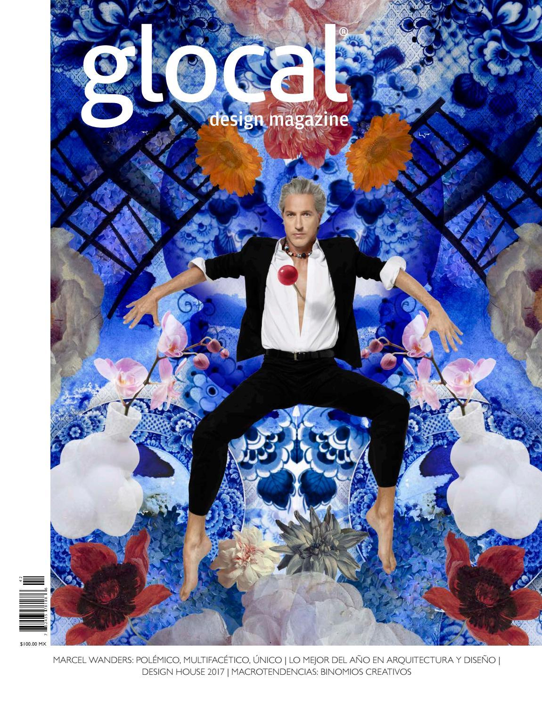 GLOCAL DESIGN MAGAZINE No. 42 Portada por / Cover by: Marcel Wanders ...