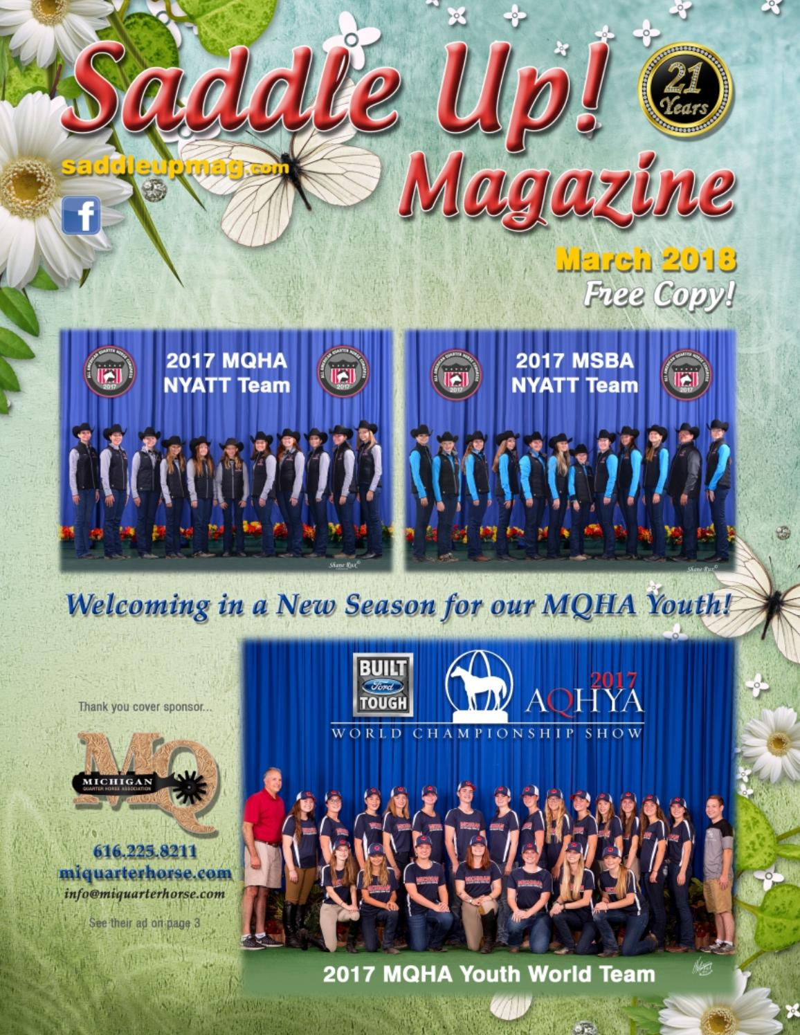 b16d037c3cf March 2018 Saddle Up! Magazine by Saddle Up! Magazine - issuu