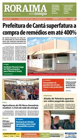 30ab35170b2c8 Jornal roraima em tempo – edição 872 by RoraimaEmTempo - issuu