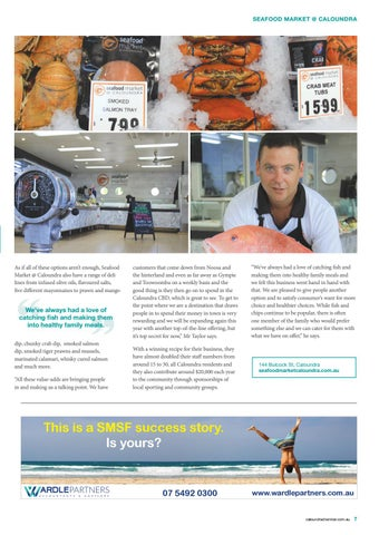 Page 7 of Catch of the Day Seafood Market  @ Caloundra