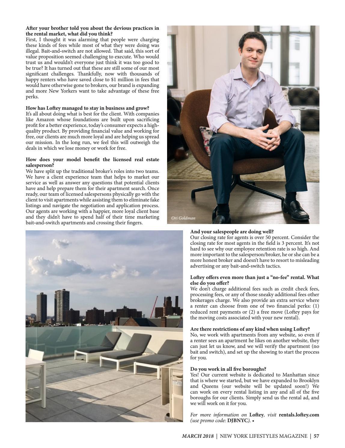 New York Lifestyles Magazine - March 2018 by New York Lifestyles