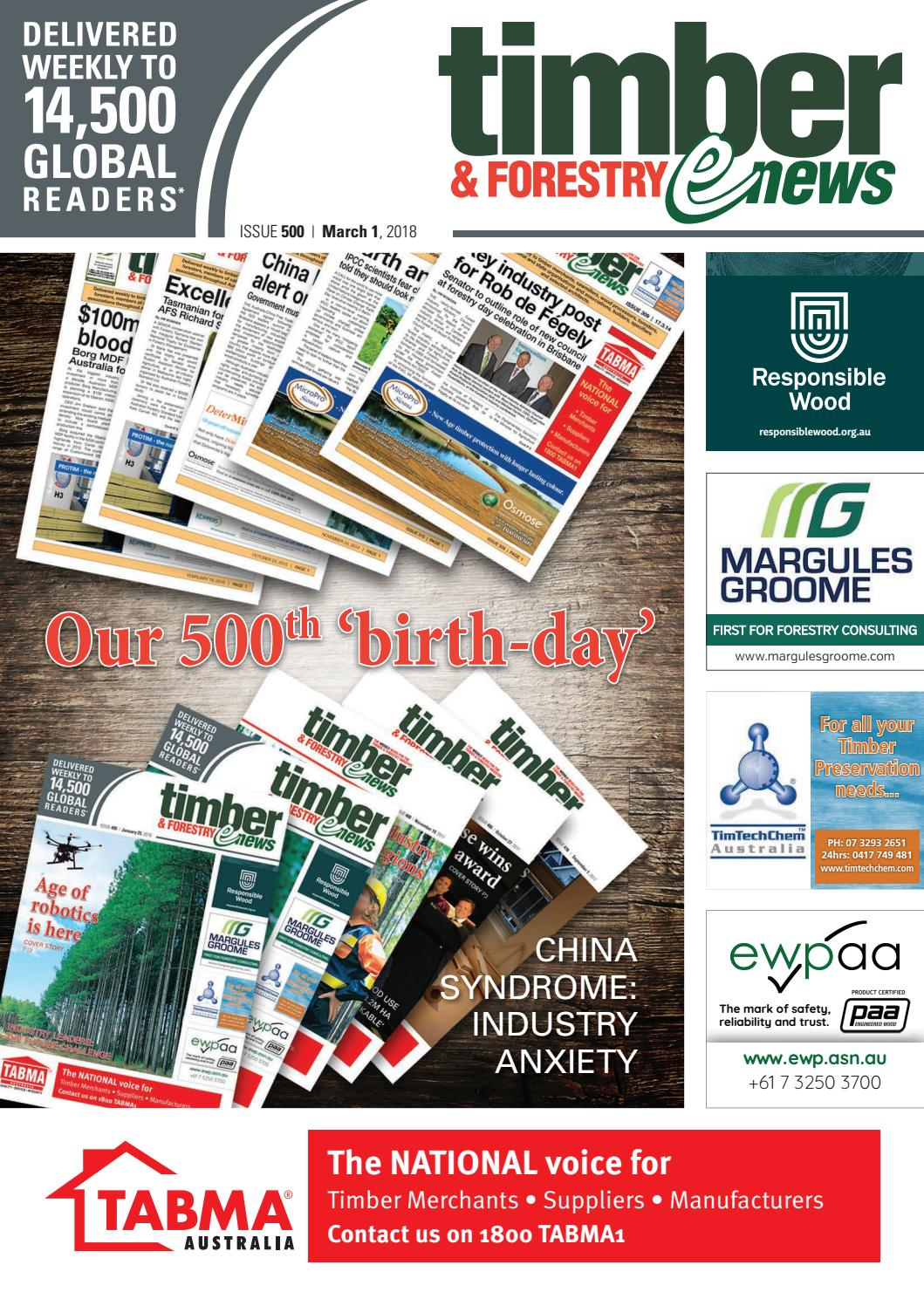 Issue 500 By Timberandforestryenews Issuu