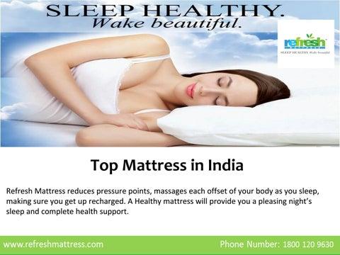 27bdc24d0 Refresh Mattress- Top mattress in India by Refresh Mattress - issuu