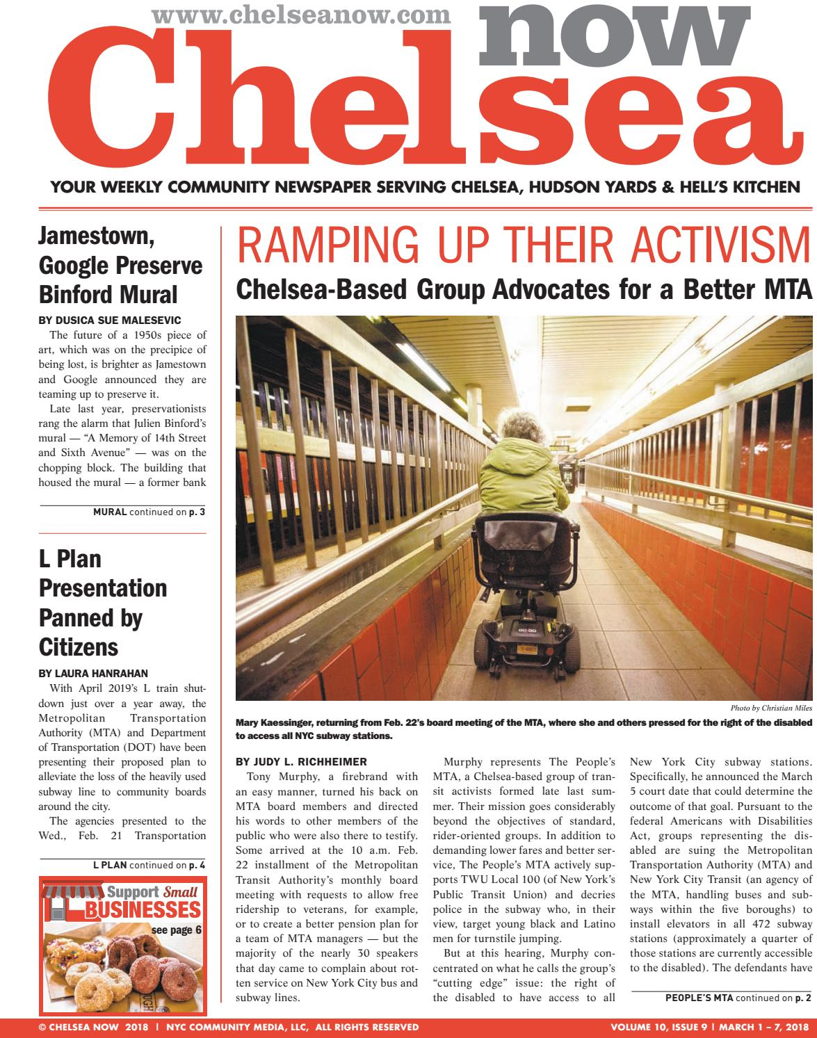 Chelsea Now By Nyc Community Media Issuu Selis Electric Wheel Chair