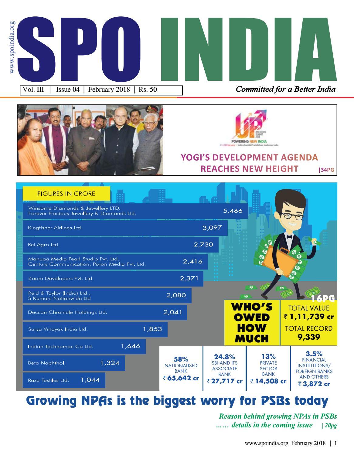 February Spo india 2018 by VarIndia - issuu
