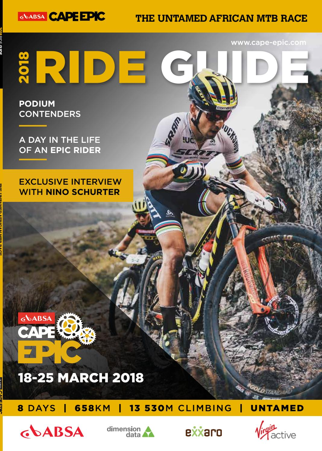 Amy Benkenstein absa cape epic ride guide 2018absa cape epic - issuu