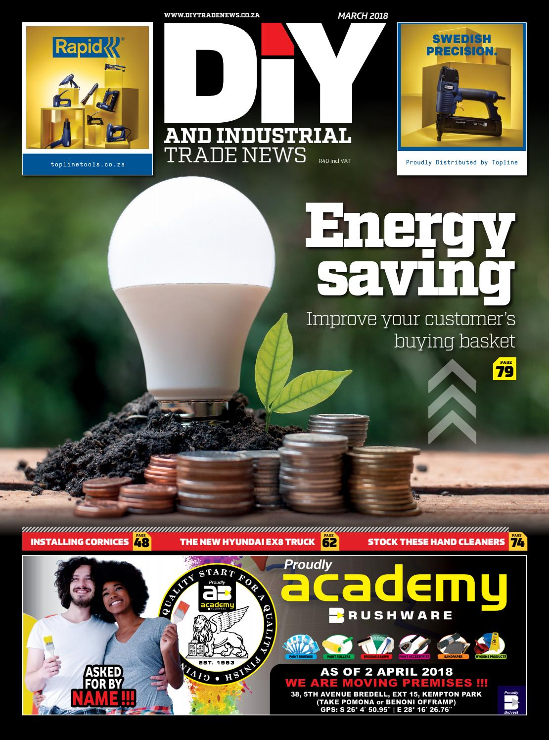 DIY and Industrial Trade News - March 2018 by New Media B2B