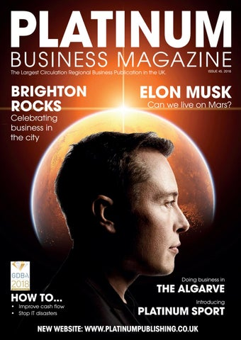 4a36b6935cf9c7 Platinum Business Magazine issue 45 by Platinum Business - issuu