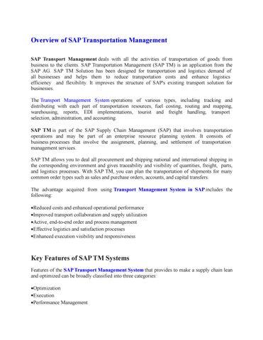 Goods Transport Management System