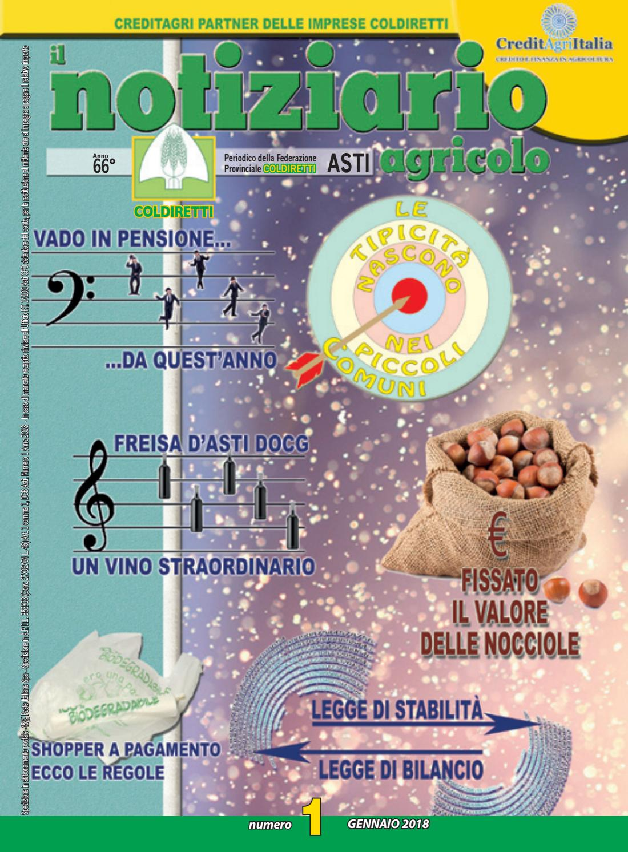 39a5dfcf08 Il notiziario agricolo n. 1 gennaio 2018 by Il Notiziario Agricolo - issuu