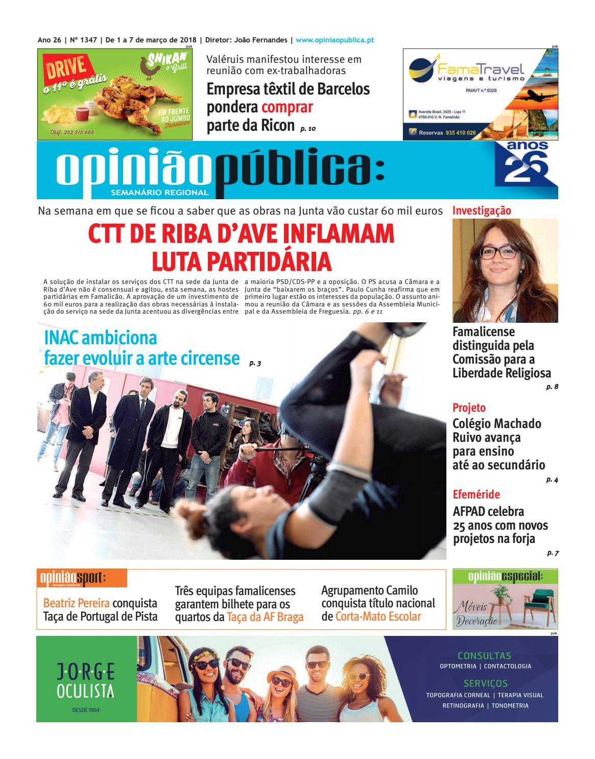 c45f44f50 Opinião Pública - 1347 by Editave Multimédia - issuu