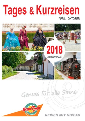 Tages U0026 Kurzreisen 2018 By Elite Tours Reisebüro   Issuu