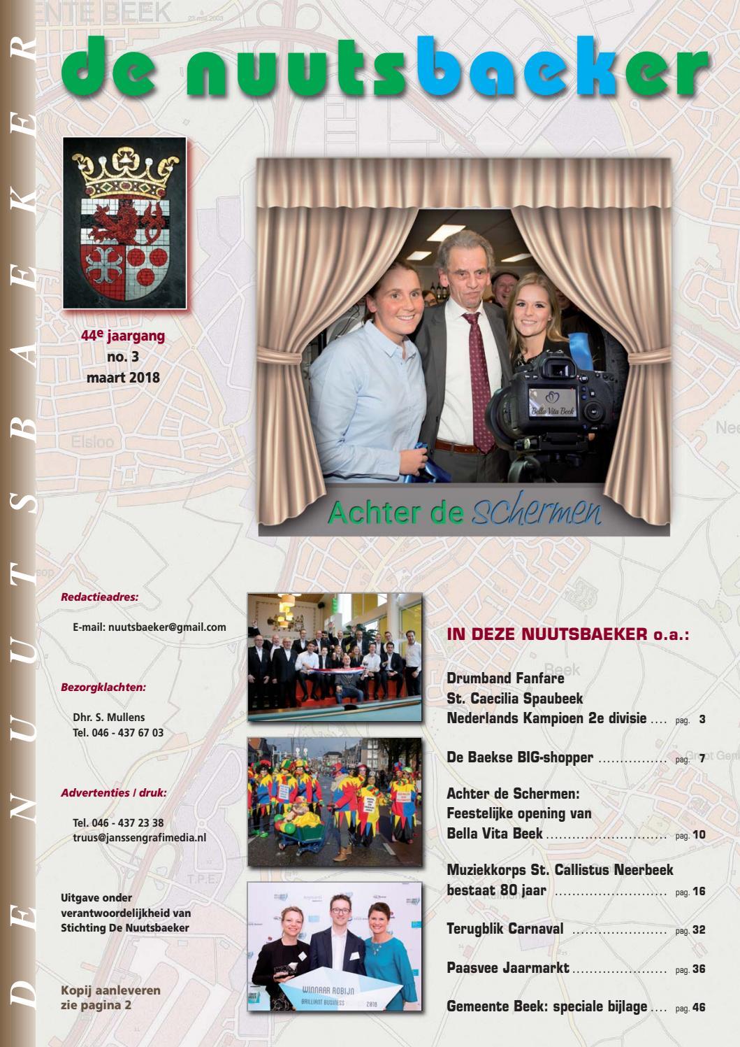 7cedb70aaf9 De Nuutsbaeker - maart 2018 by De Nuutsbaeker - issuu
