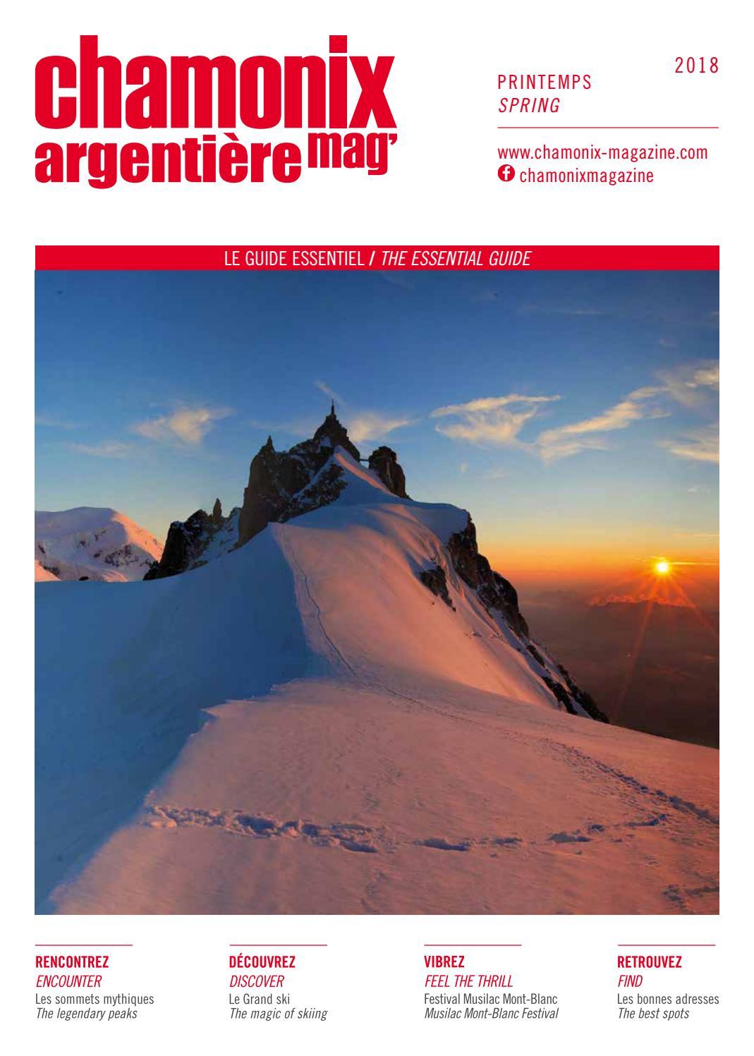 fd0d4c8d1d9 Chamonix magazine printemps 2018 by Édimontagne - issuu