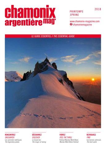 907d3c2112b7 Chamonix magazine printemps 2018 by Édimontagne - issuu