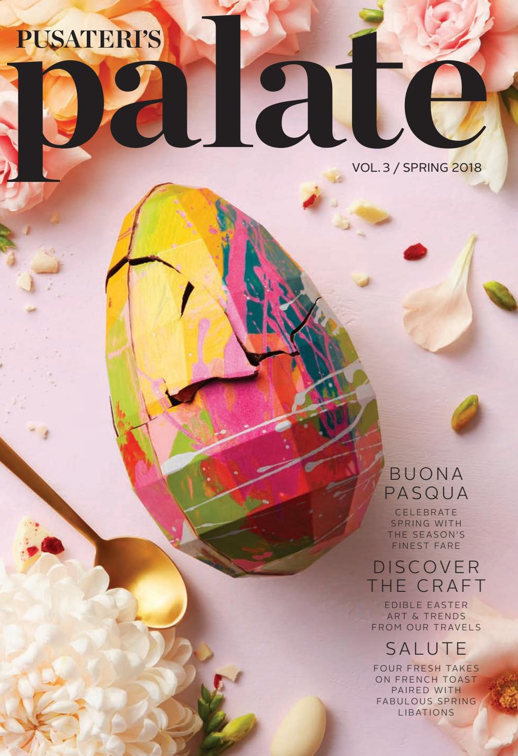 Pusateri's Palate Vol 3: Spring by Pusateri's Ltd - issuu