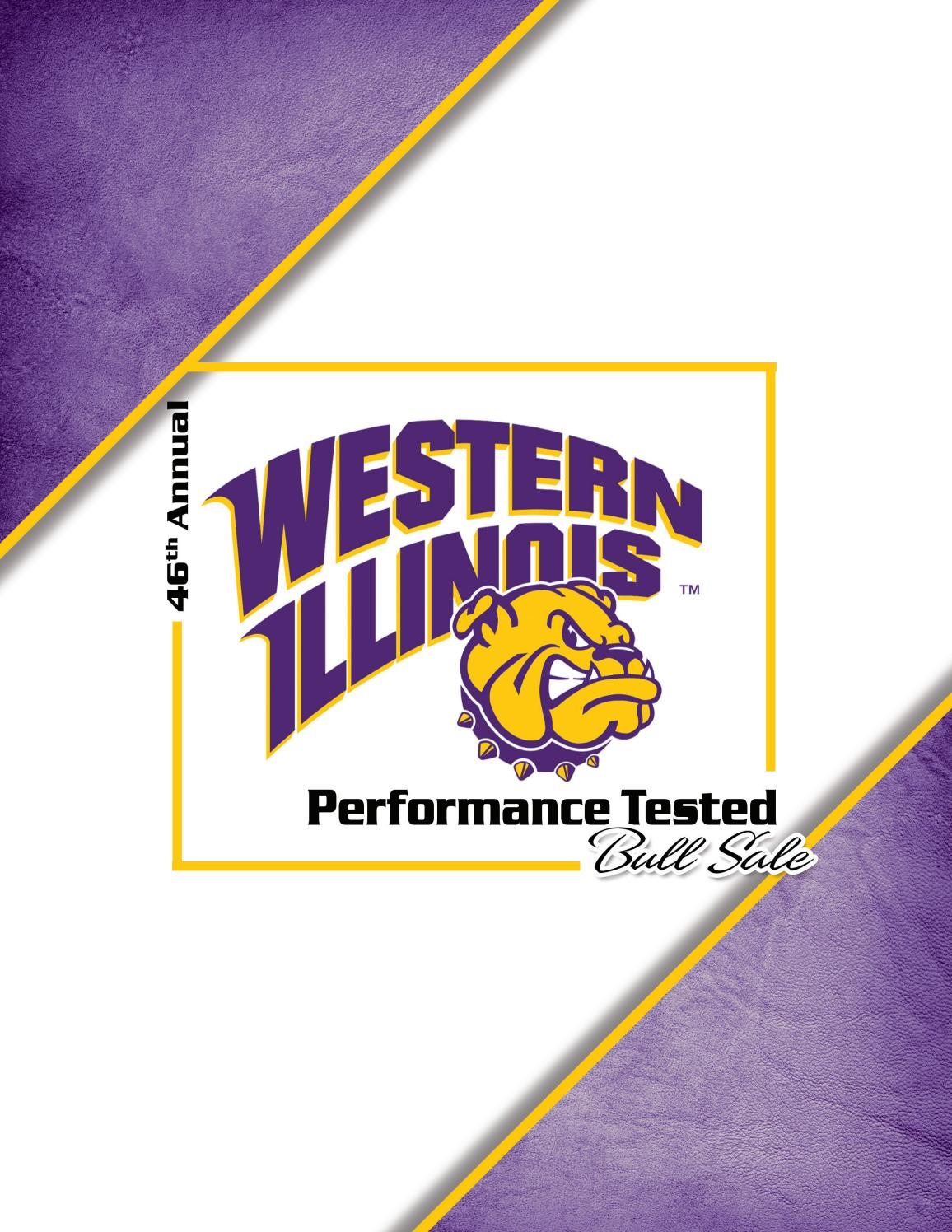Western IL University 45th Annual Performance Tested Bull Sale by
