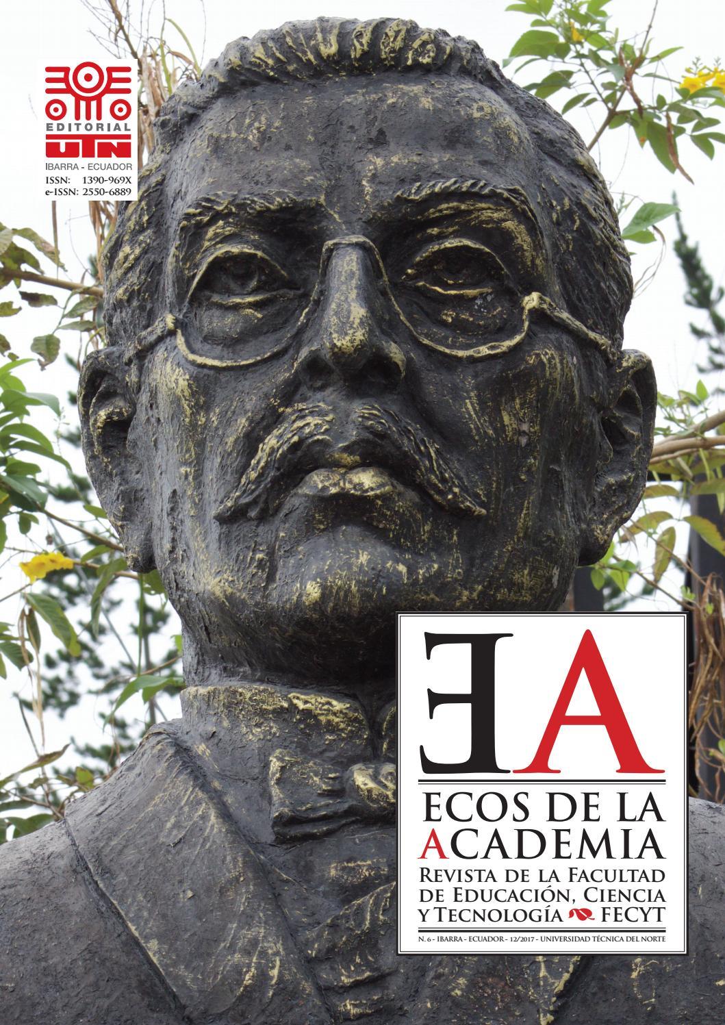 Revista ECOS de la Academia - No. 6 by Editorial Universidad Técnica ...