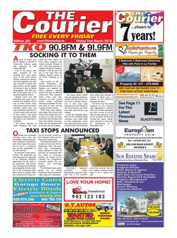 The Courier Edition 361 By The Courier Newspaper Issuu