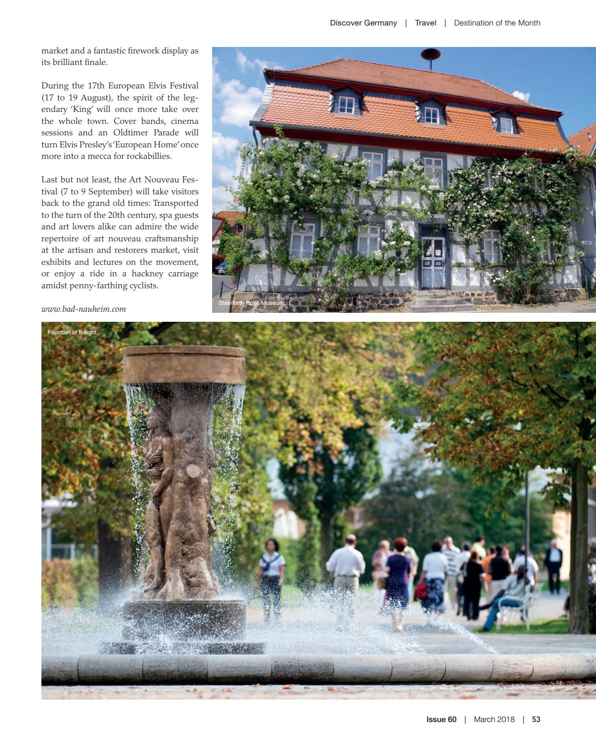Discover Germany, Issue 60, March 2018 by Scan Group - issuu