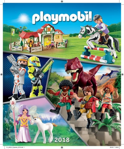 835b6f9c9e7 Playmobil Catalogo 2018 by Loja dos Brinquedos online - issuu