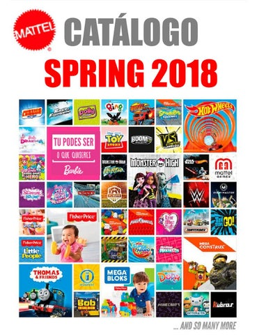 603bdb5b7 Mattel Catalogo 2018 by Loja dos Brinquedos online - issuu