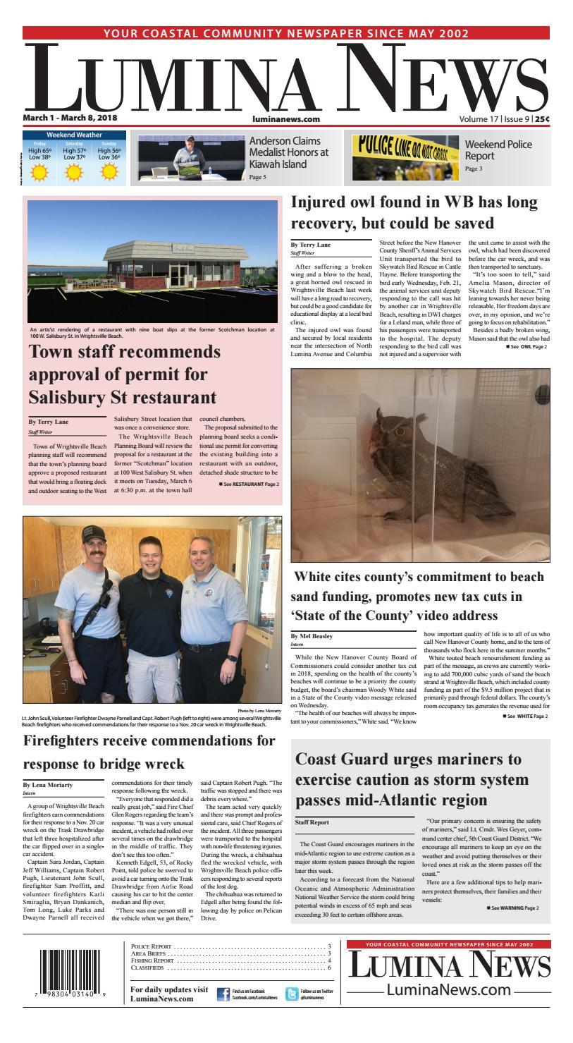 Lumina News March 1, 2018 by Lumina News - issuu